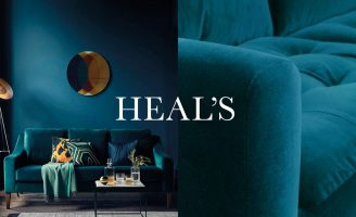 Where Design Lives: Deep Refresh a British Icon With Heal's Rebrand