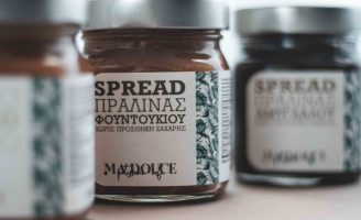 Epigrafeio Creative Factory Creates New Labels for MaDouce Patisserie Products