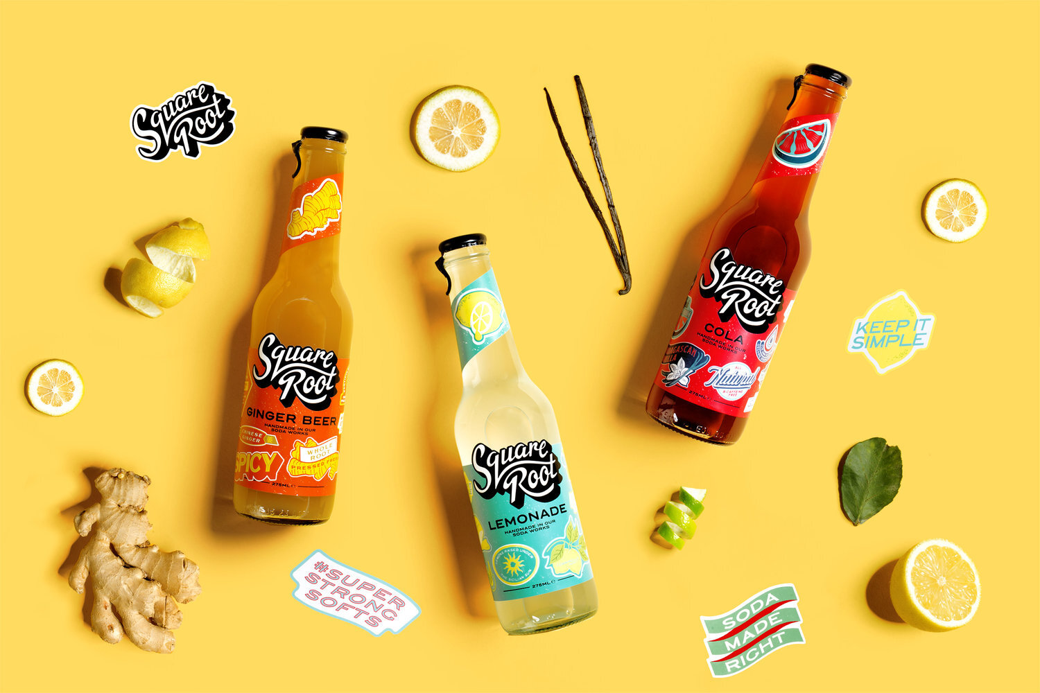 Thirst Craft Shows Square Root is Soda Made Right With Rebrand