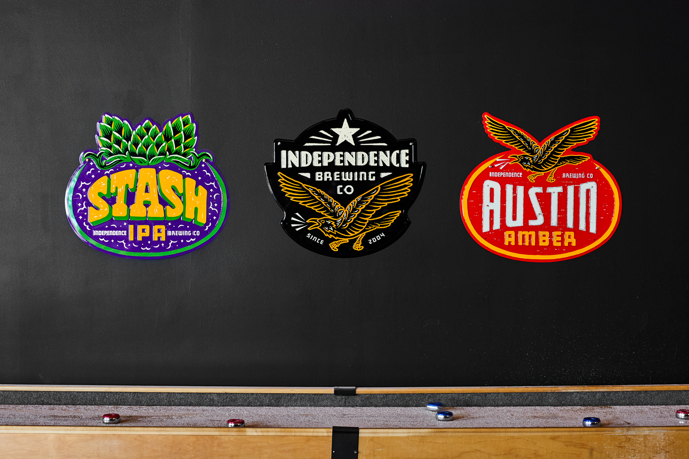 Independence Brewing Co Identity and Packaging Refresh