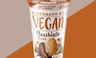 Packaging Design for Biedermann Bio Vegan, Macchiato Drink