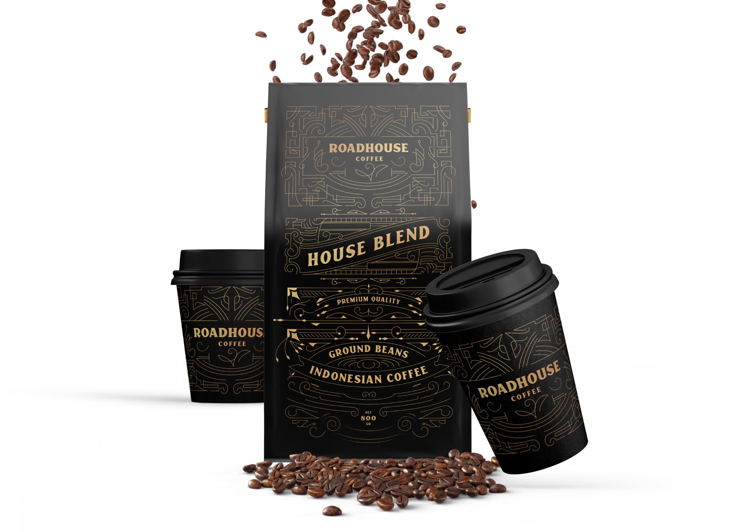 Widarto Impact Creates a Premium Packaging Design for Roadhouse Premium Coffee