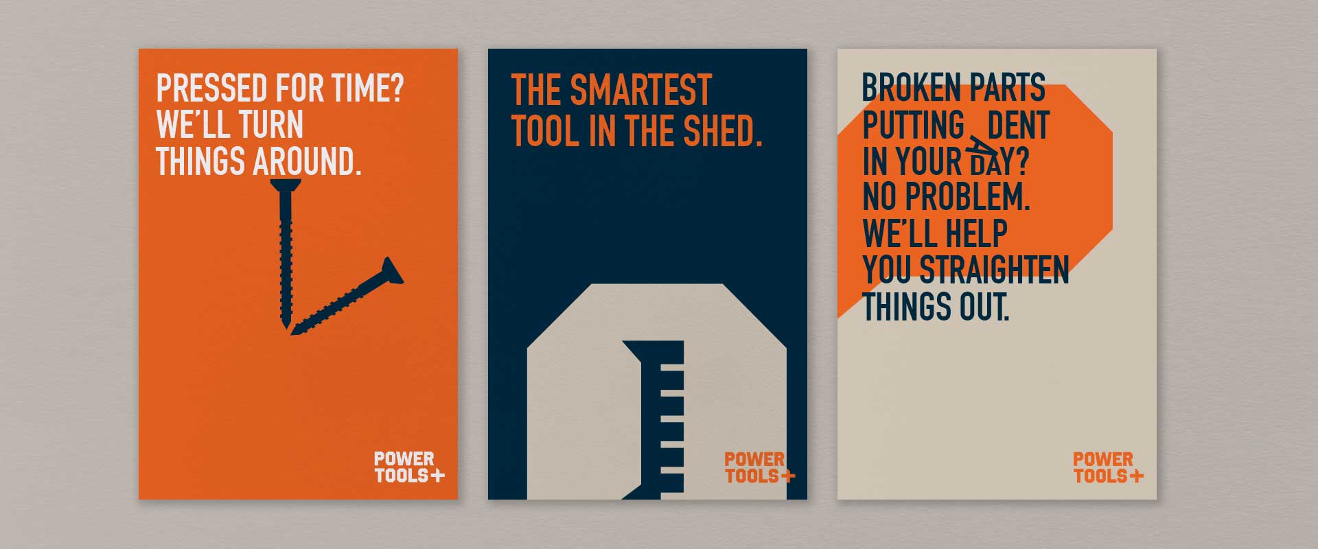 Sydney brand design agency, Percept,  launches new brand identity for Power Tools Plus