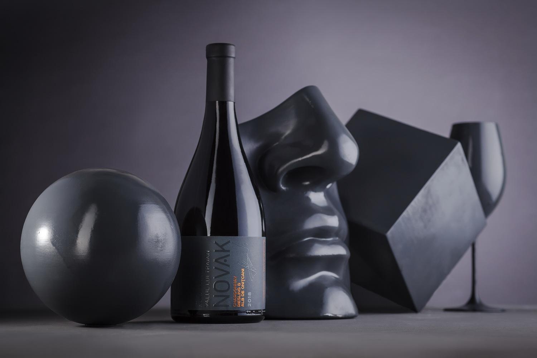 Limited Wine Label Design – Novak Gray Blend