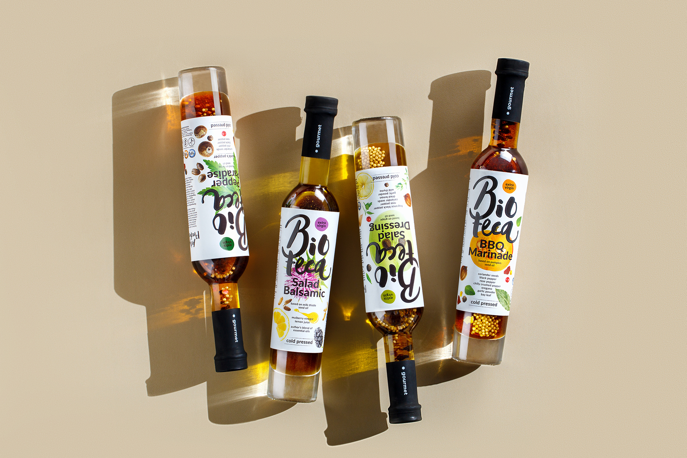 Nothing But Nature: A Design Solution for Bioteca Oils (Moldova) by Fabula Branding