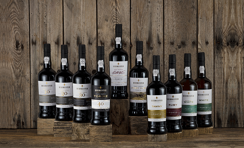 Burmester Wines Packaging Design