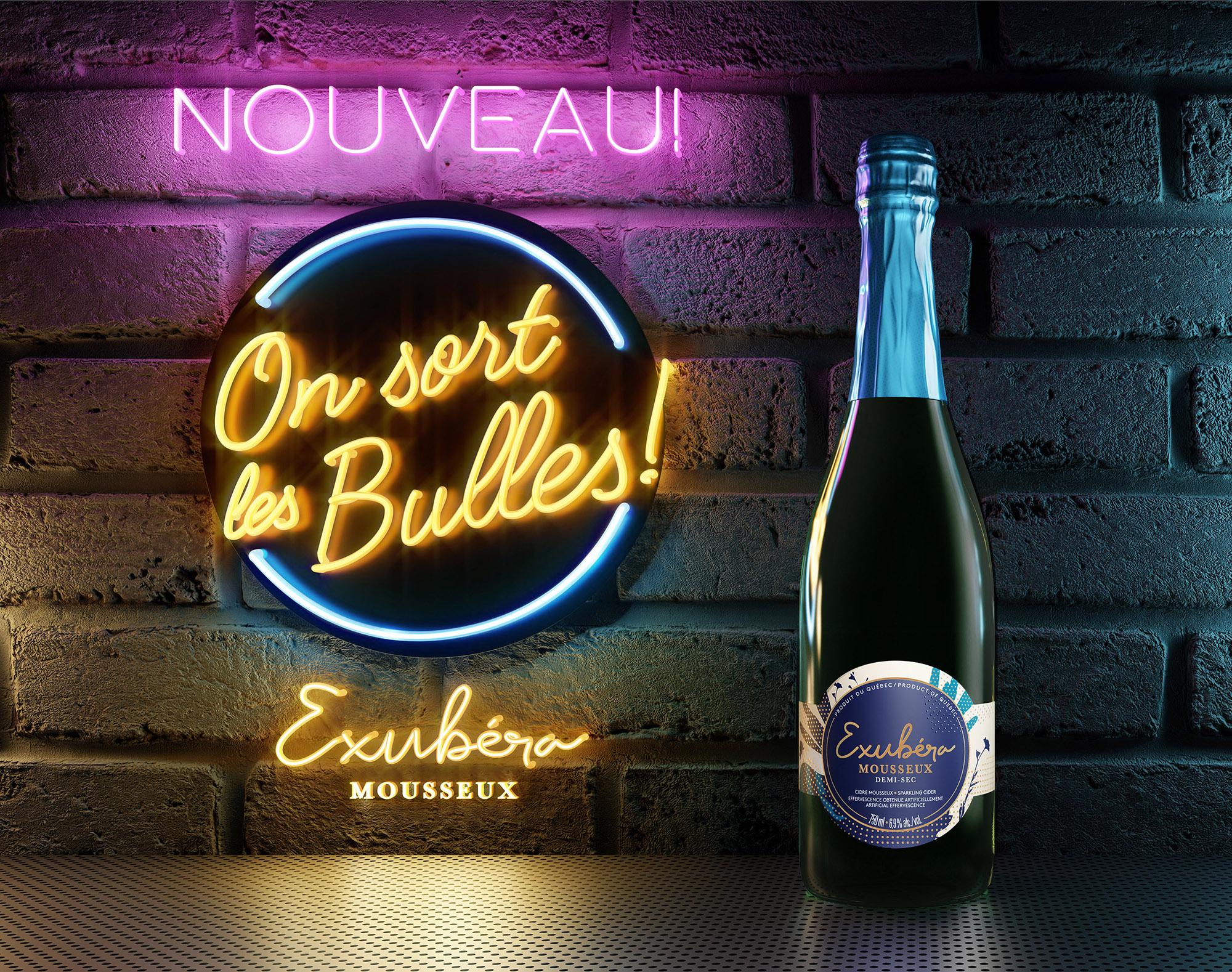 Exubera Sparkling Wine