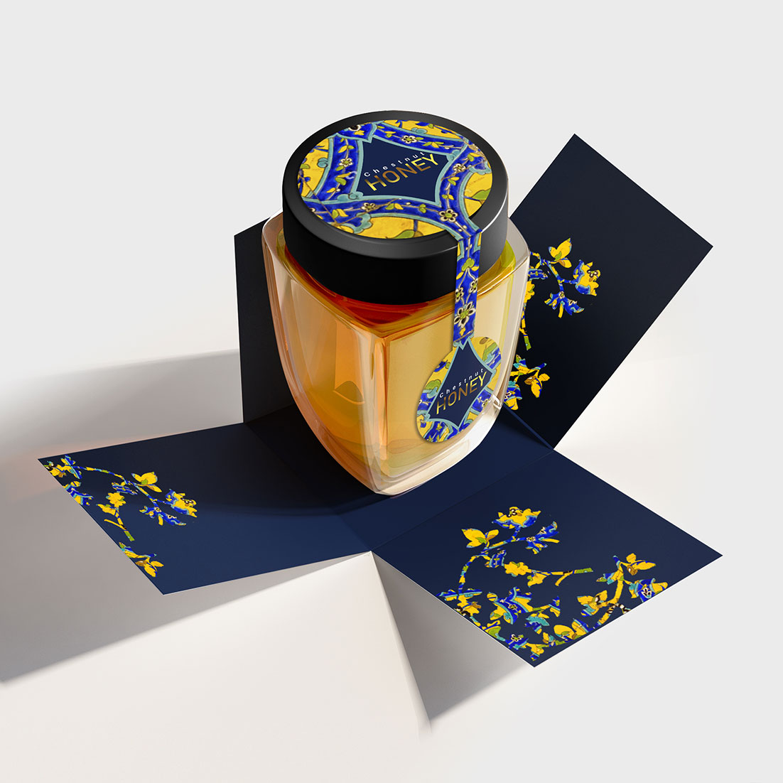 Taha Fakouri Create New Honey Packaging and label Design Concept