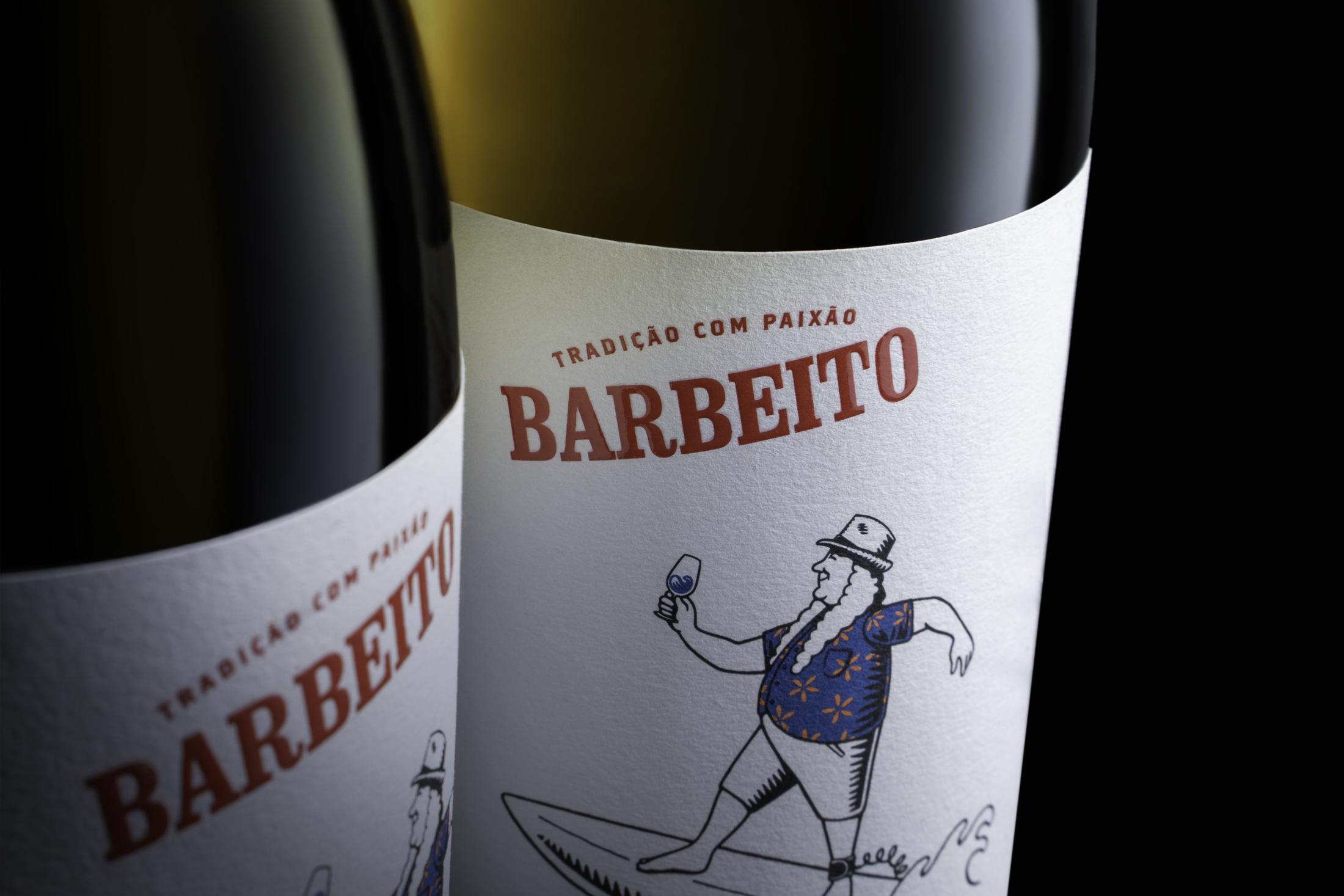 Barbeito Wine Label Design by Nauvegar
