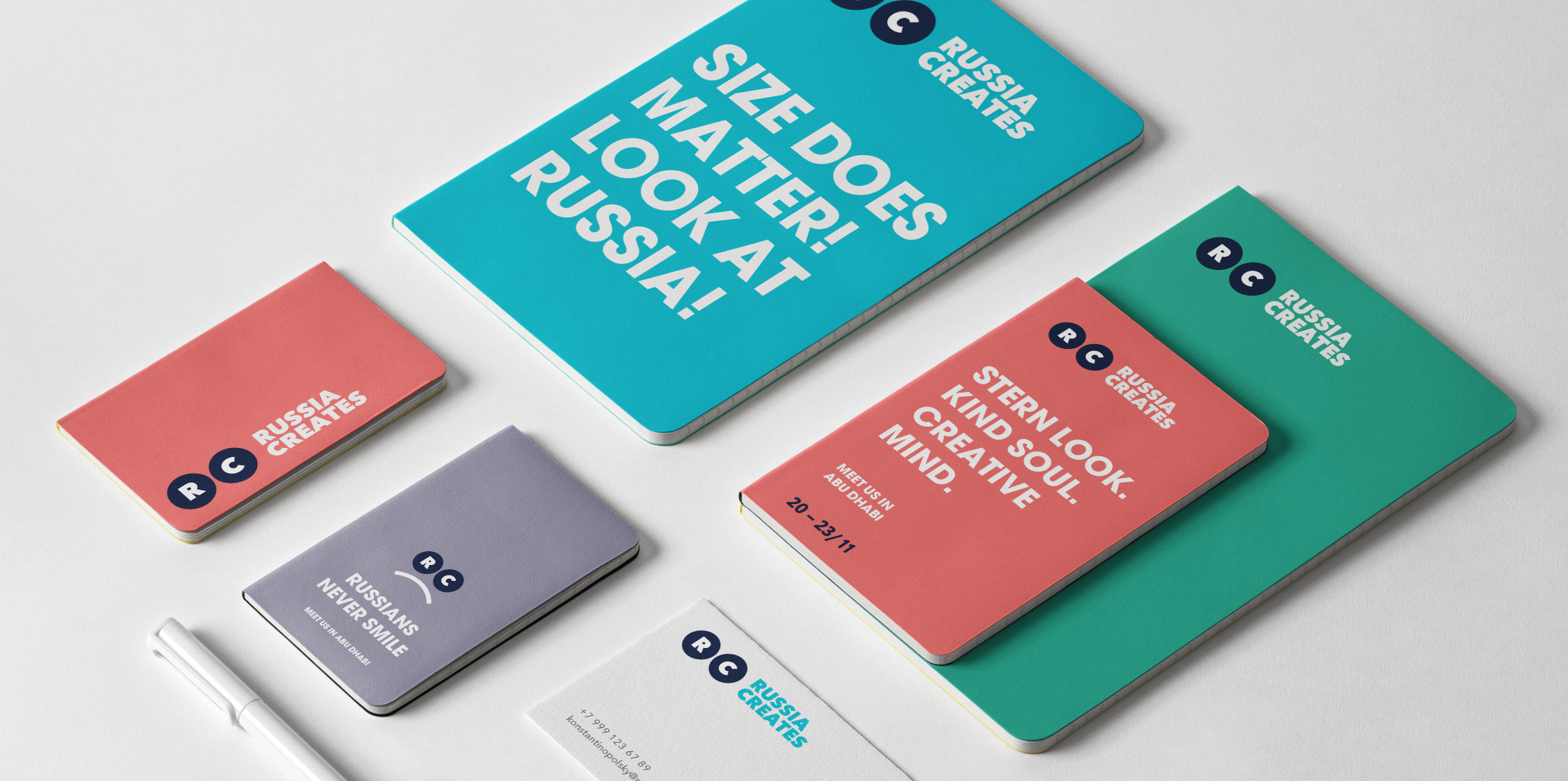 MILDBERRY Creates Visual Identity for the Community and Association Russia Creates