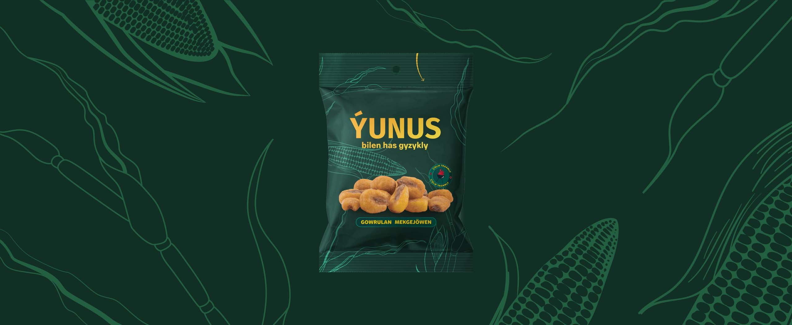 Belli Creative Studio Created Package Design for Yunus Dried Fruits and Seeds