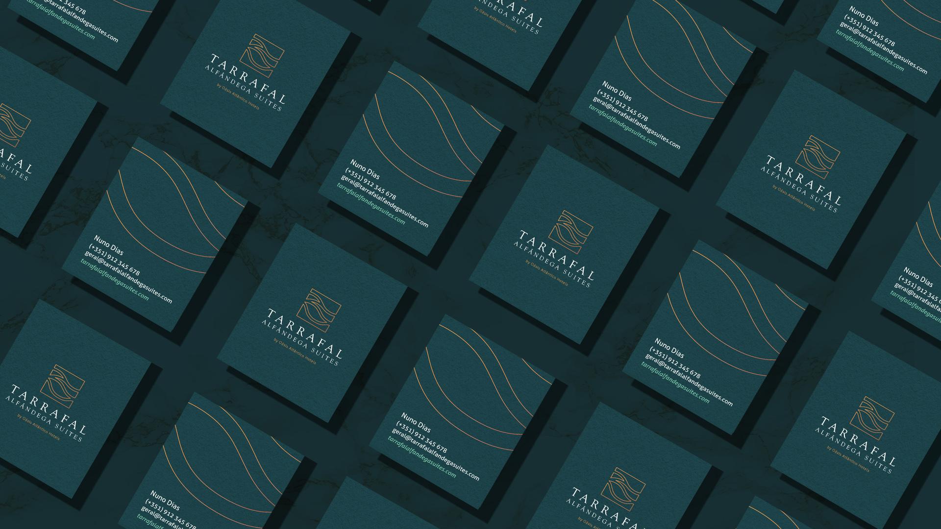 Branding and Webdesign for Tarrafal Alfândega Suites