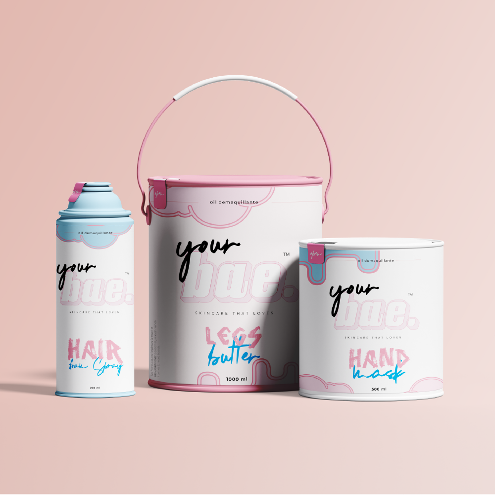 Bae Cosmetics Packaging Concept Design Provided by Studiomarz
