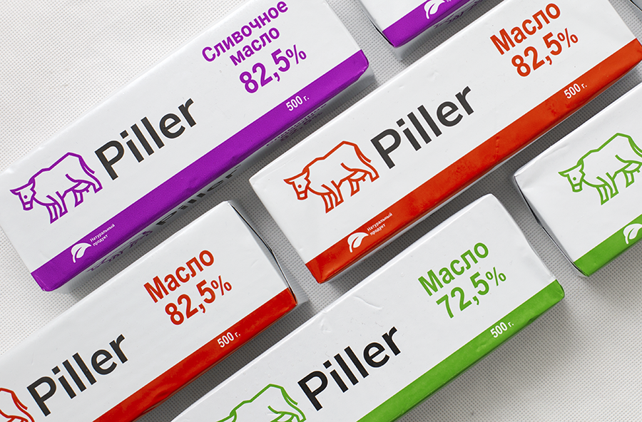 Piller – Creating Brand and Packaging Design for Butter