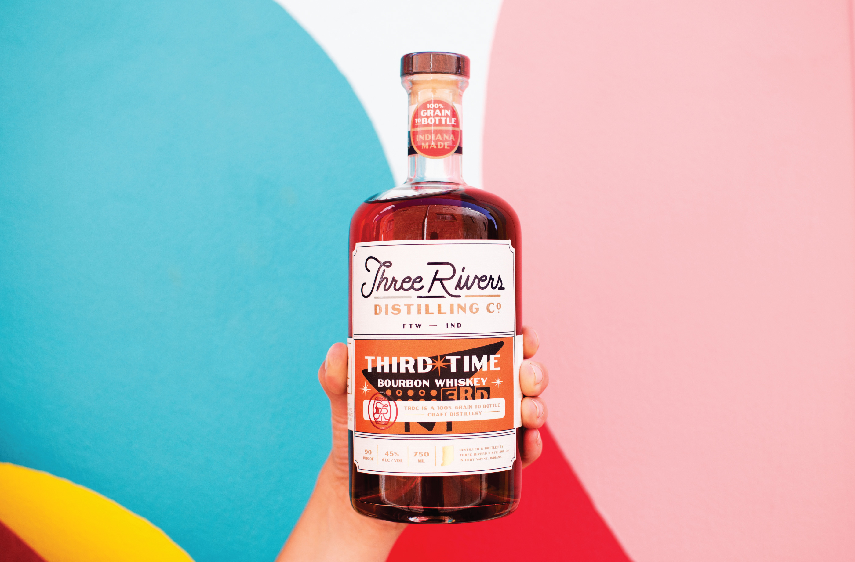 Rebranding Three Rivers Distilling Co.