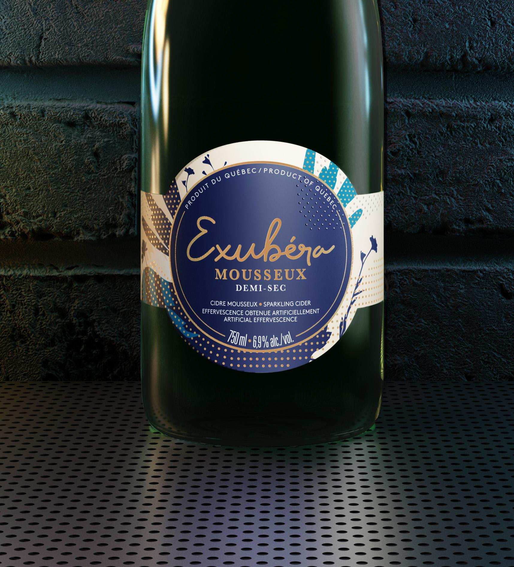 Exubera Sparkling Wine World Brand Design Society