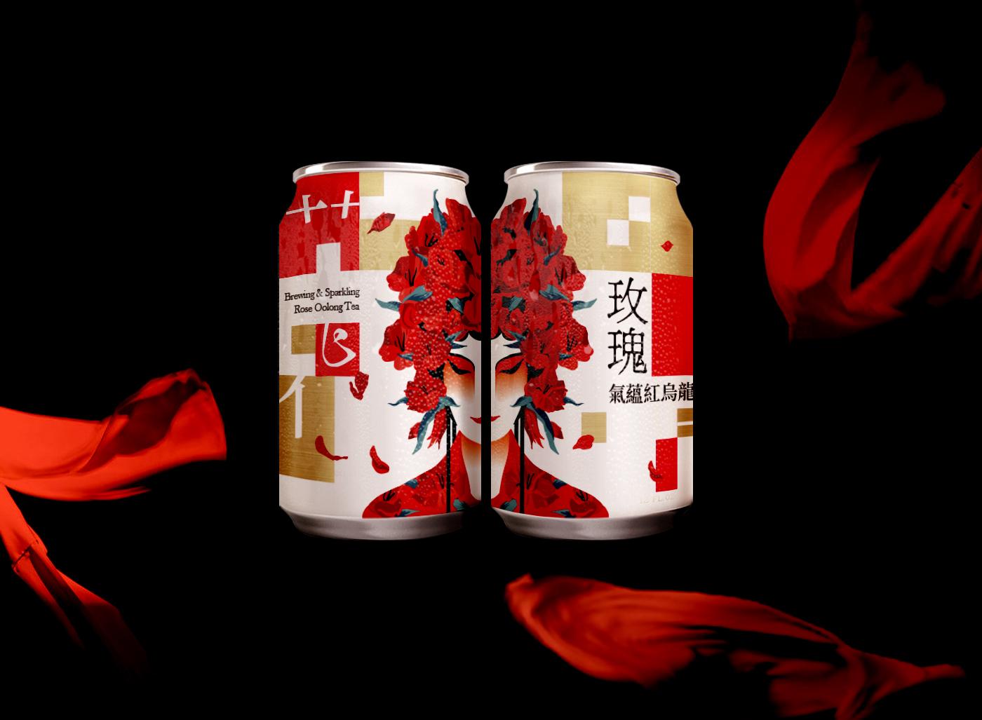 Hua-Dan Sparkling Tea