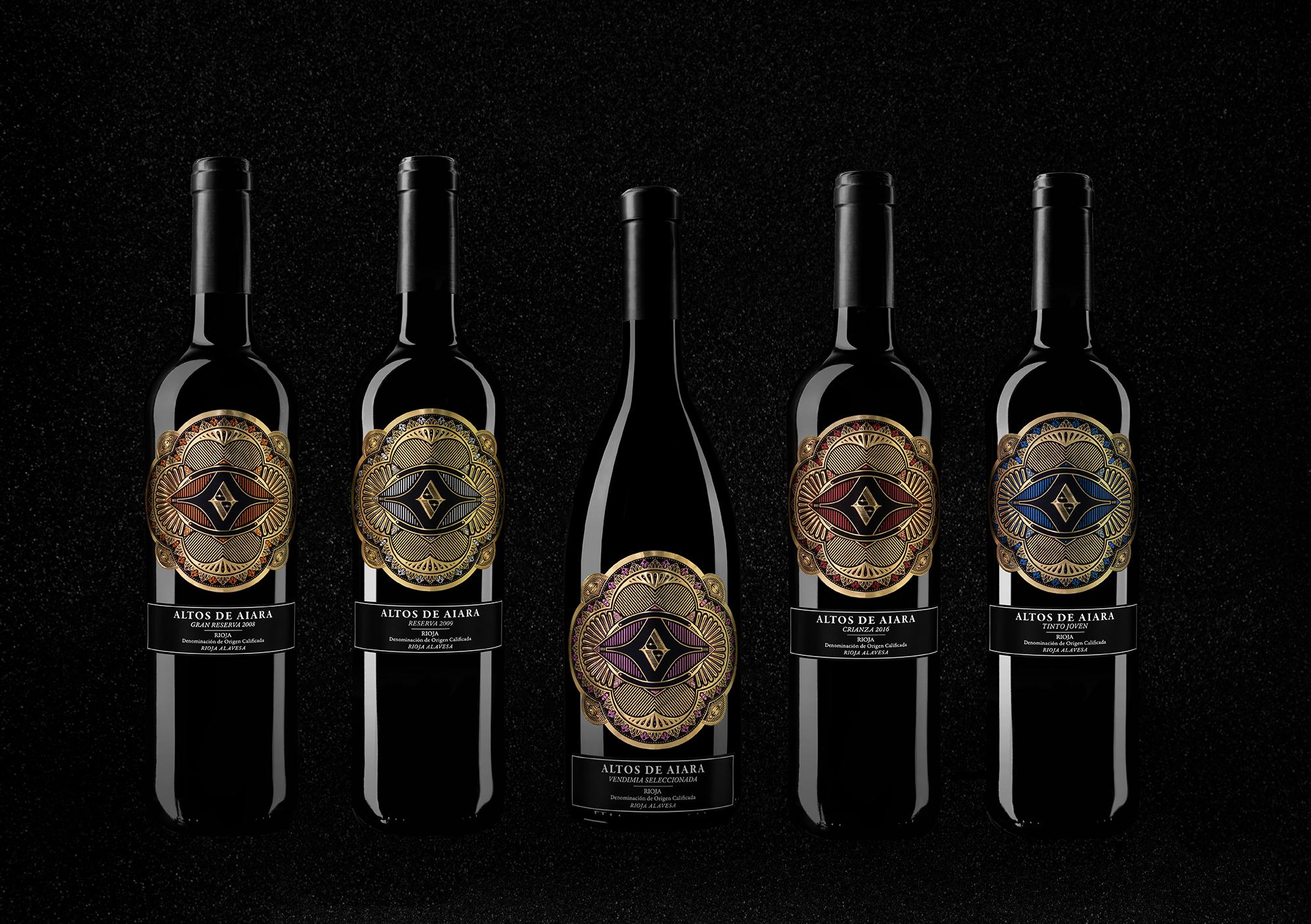 Altos de Aiara Label Design