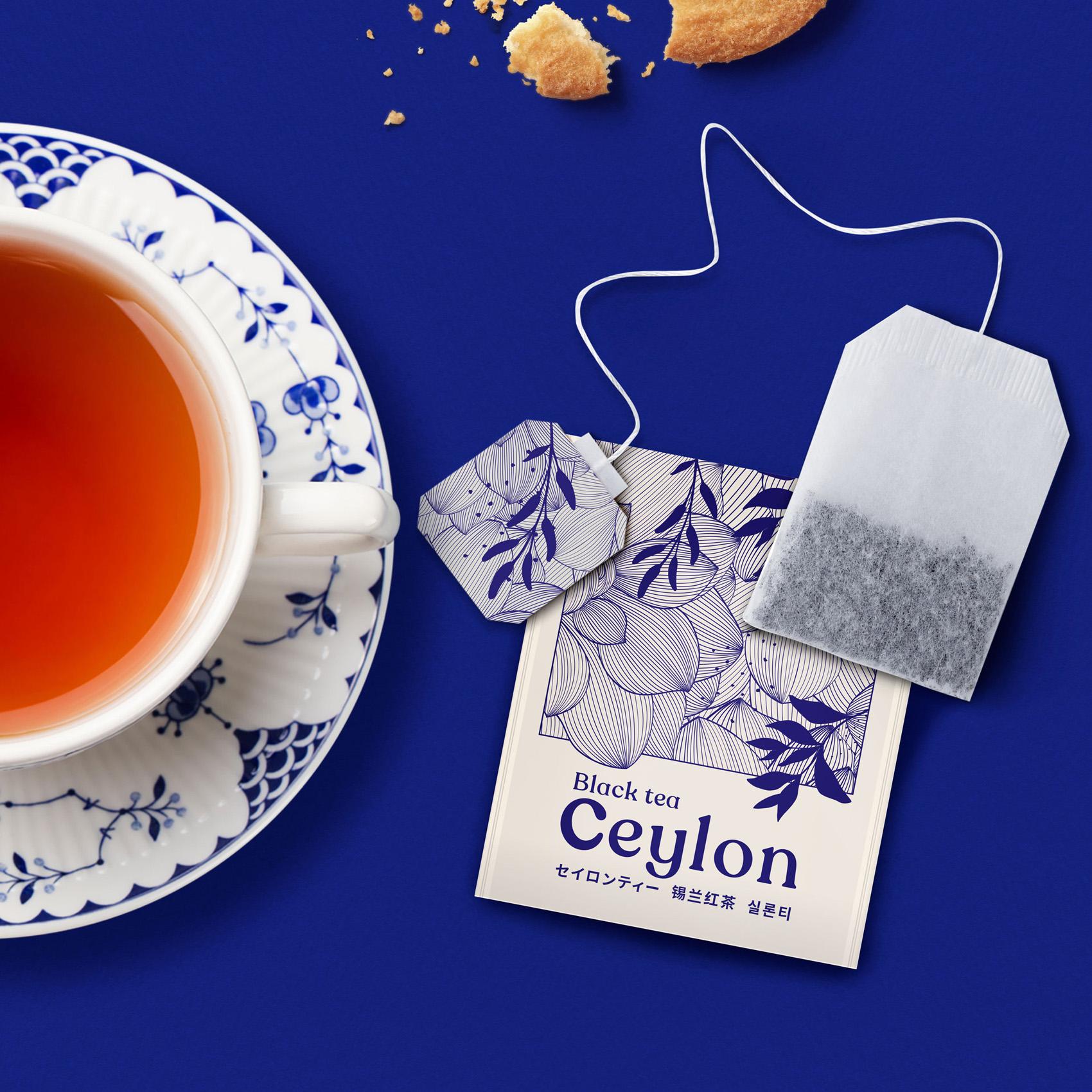 Tea for Millions, New Design for Major Japanese E-Tailer Askul
