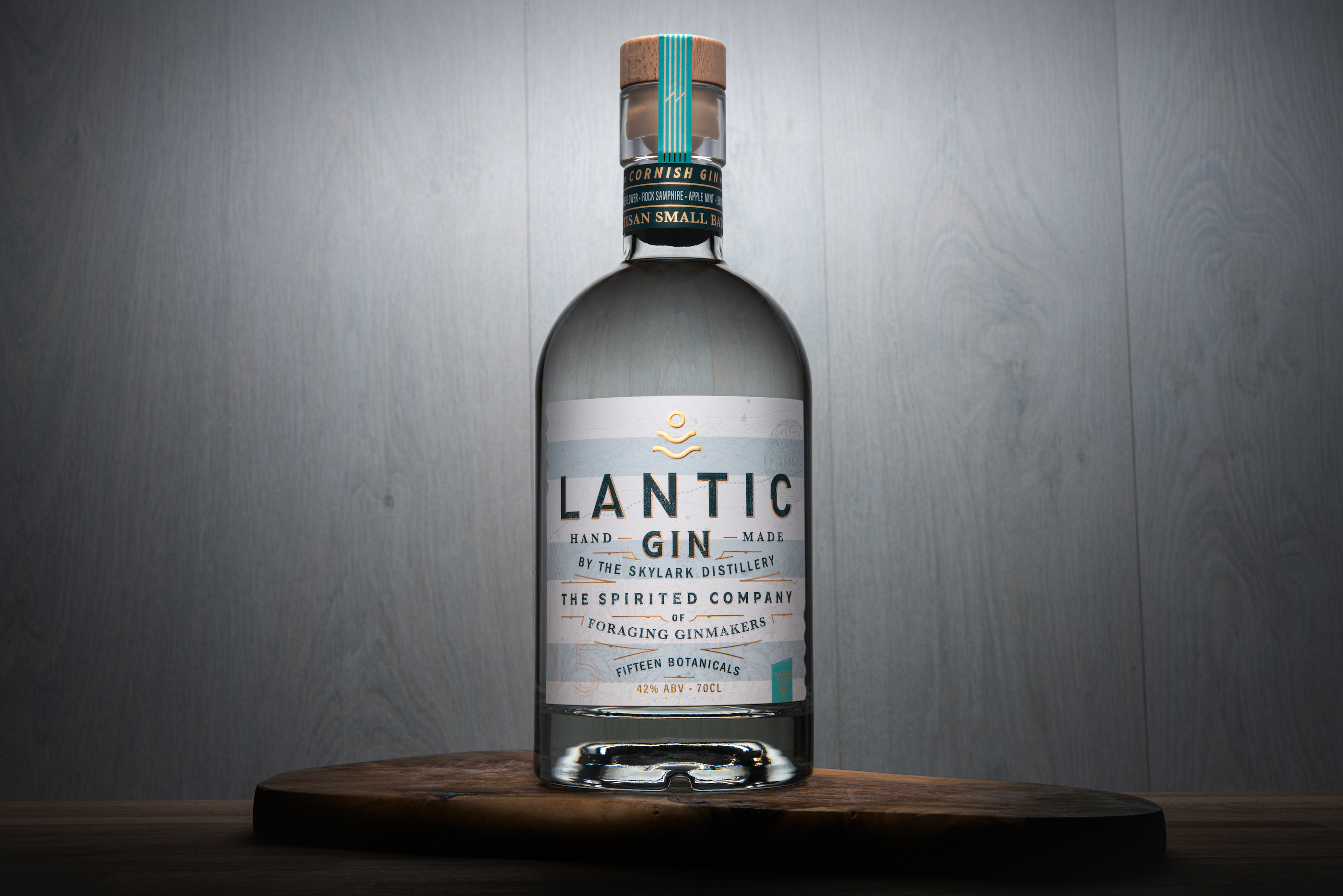 Lantic Gin Packaging Design