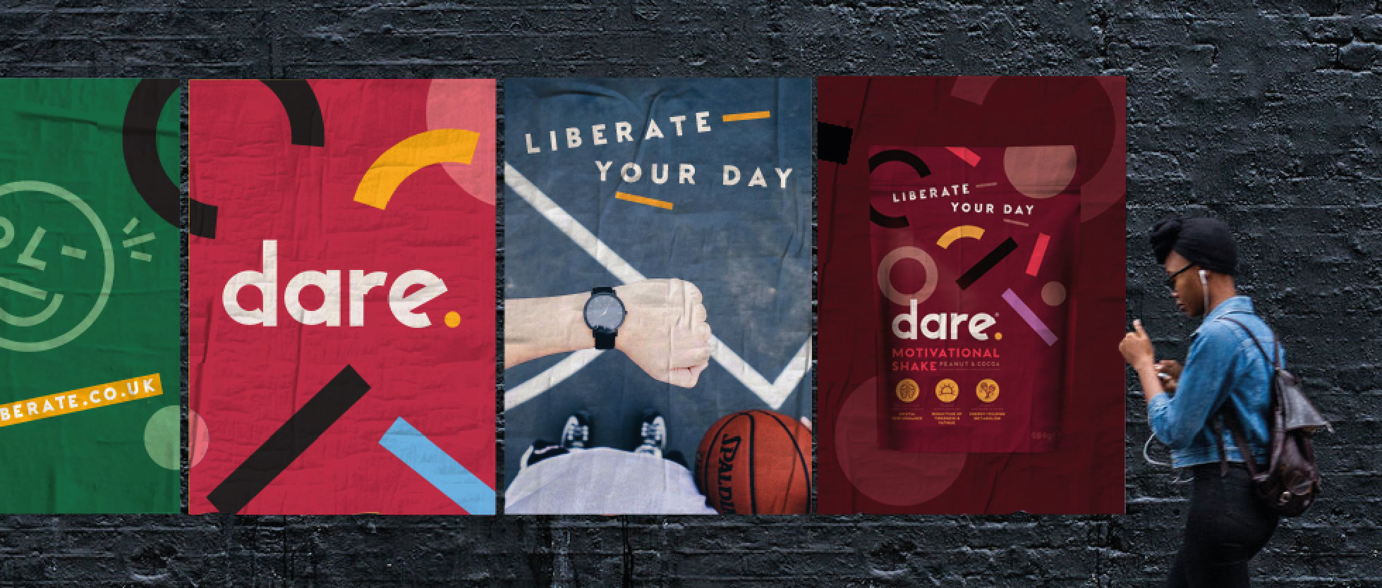 Family (and friends) Create Brand Identity for Dare