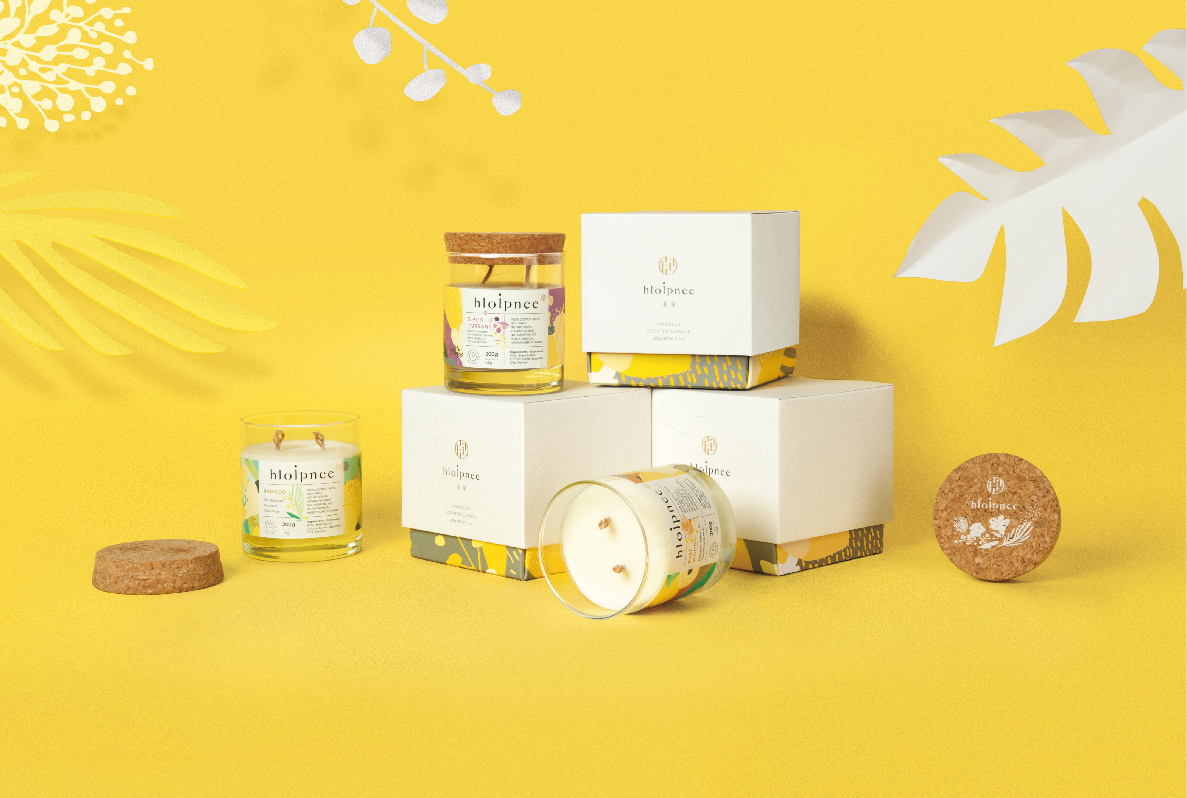 HLOIPNEE Scented Candle Brand