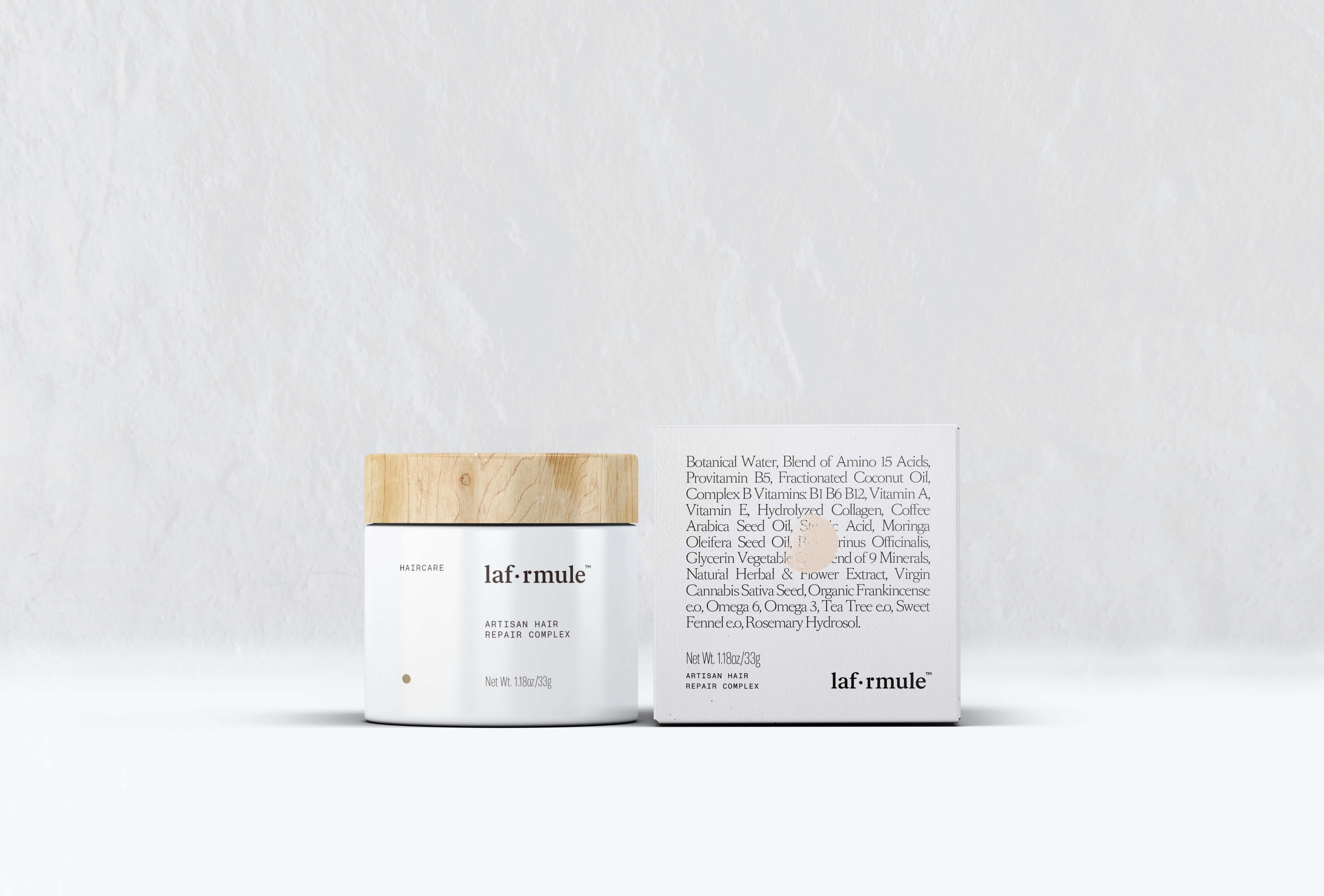 Brand & Packaging design for La Formule, a revolutionary hair product
