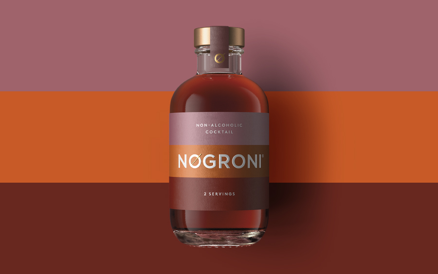 Pearlfisher Designs the Identity and Packaging for NOgroni by Seedlip