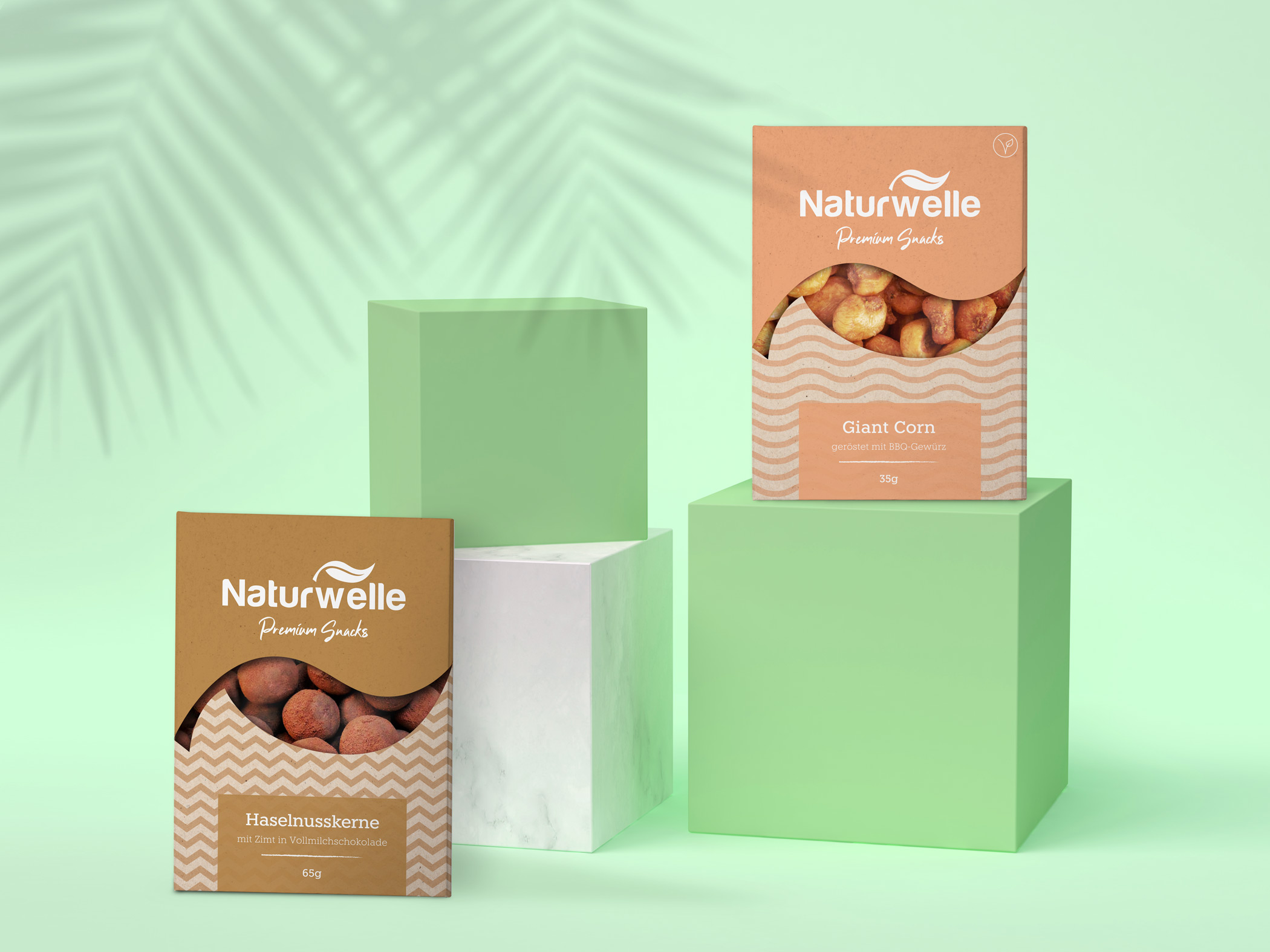 New Packaging for Exotic Snacks From Swiss
