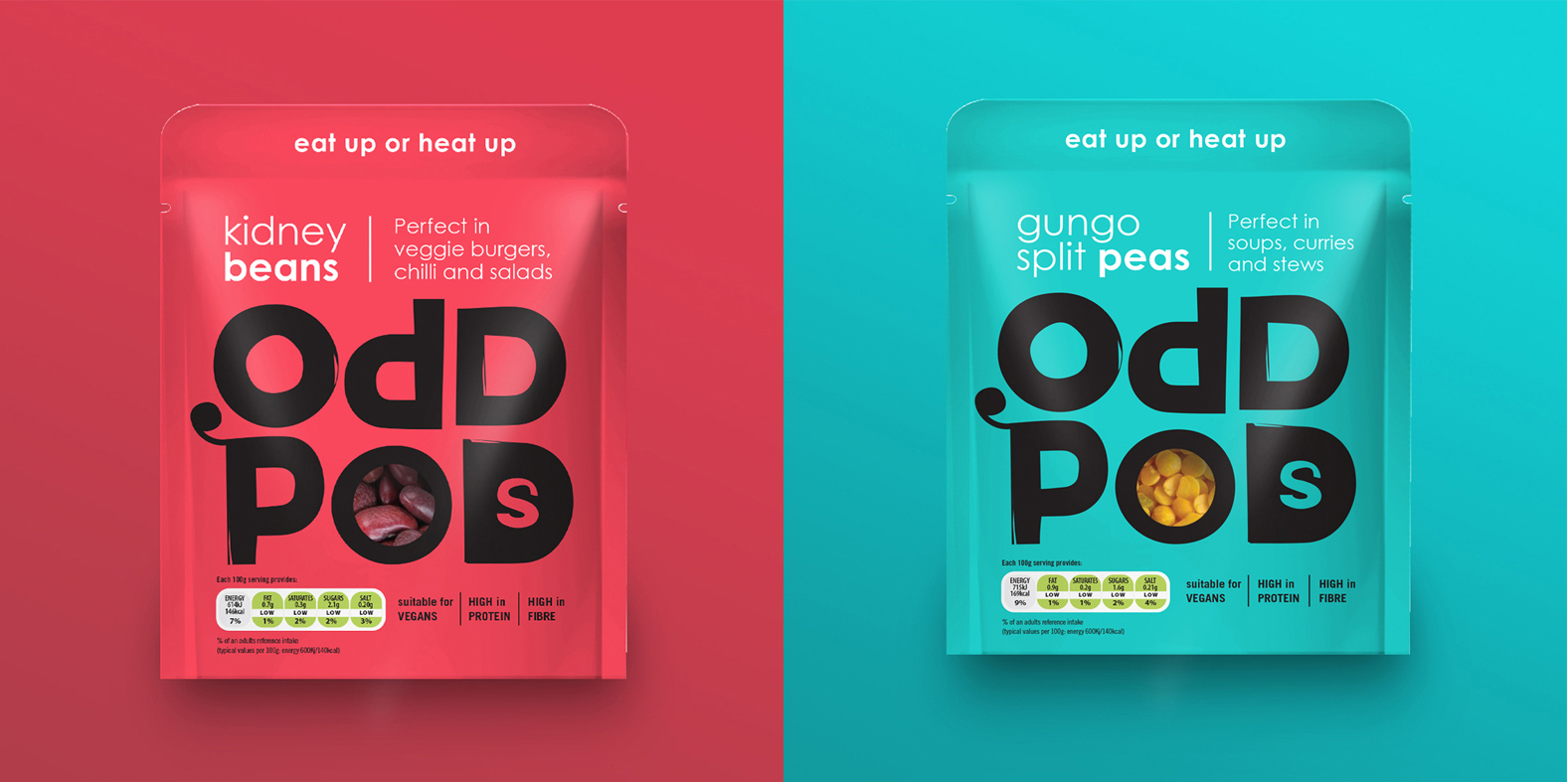 Oddpods Brand Creation by Studio h