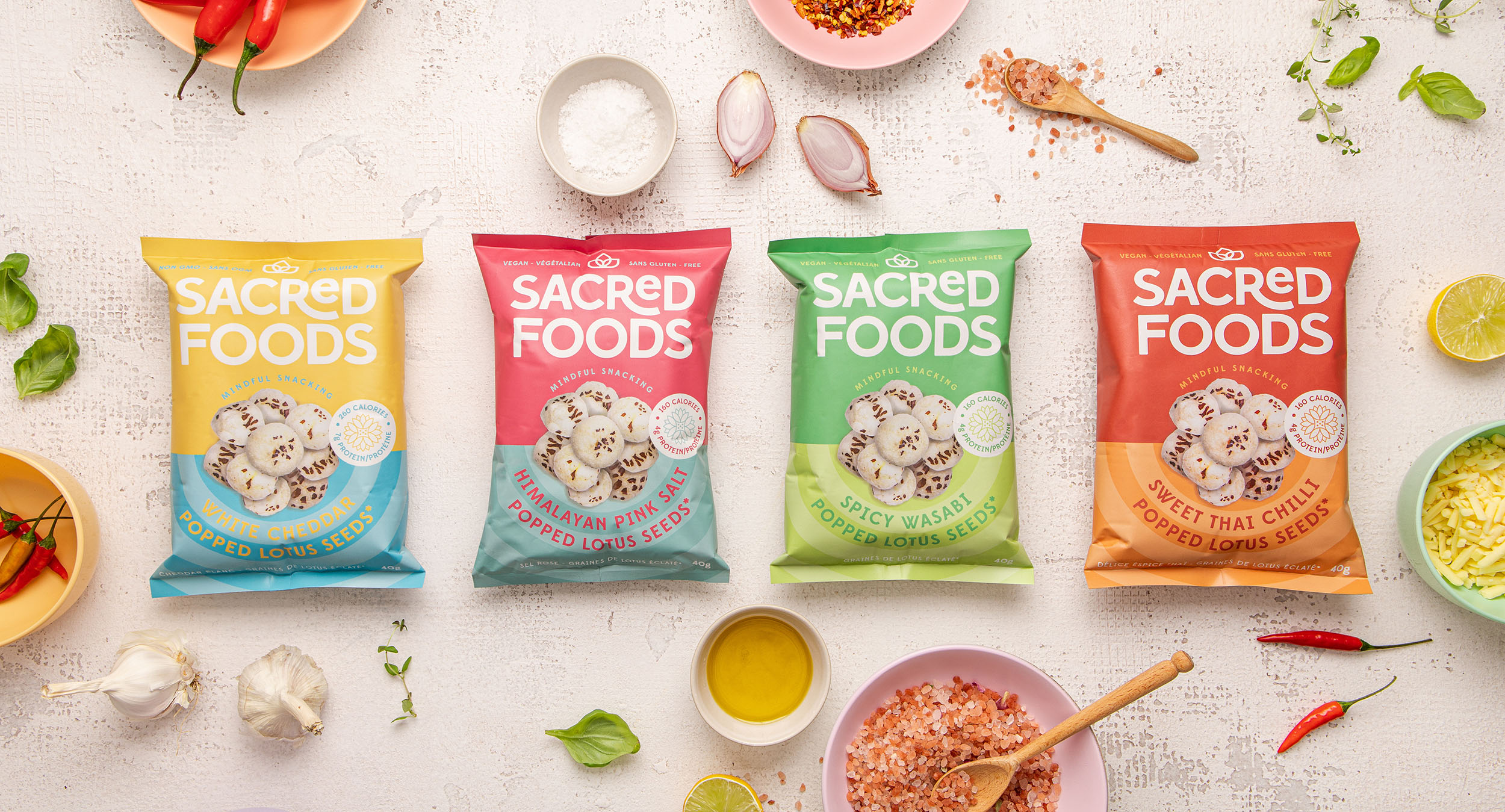 Sacred Foods, Mindful Snacking