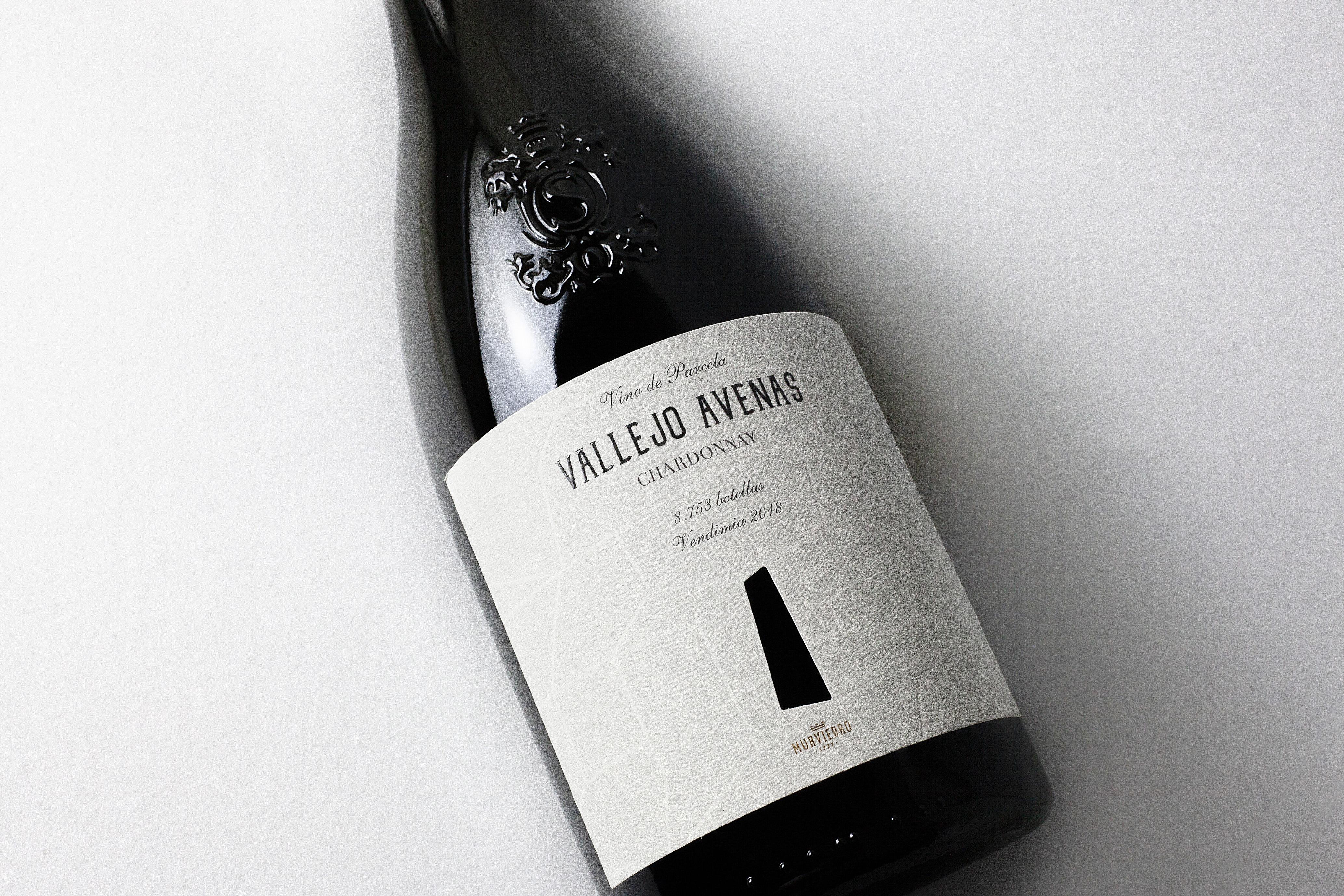 """Wine Label Design """"Vallejo Avenas"""" for Bodegas Murviedro"""