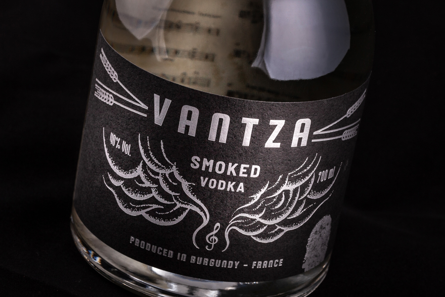 Magic Mirror Design Creates the Product Identity and Packaging for Vantza Vodka