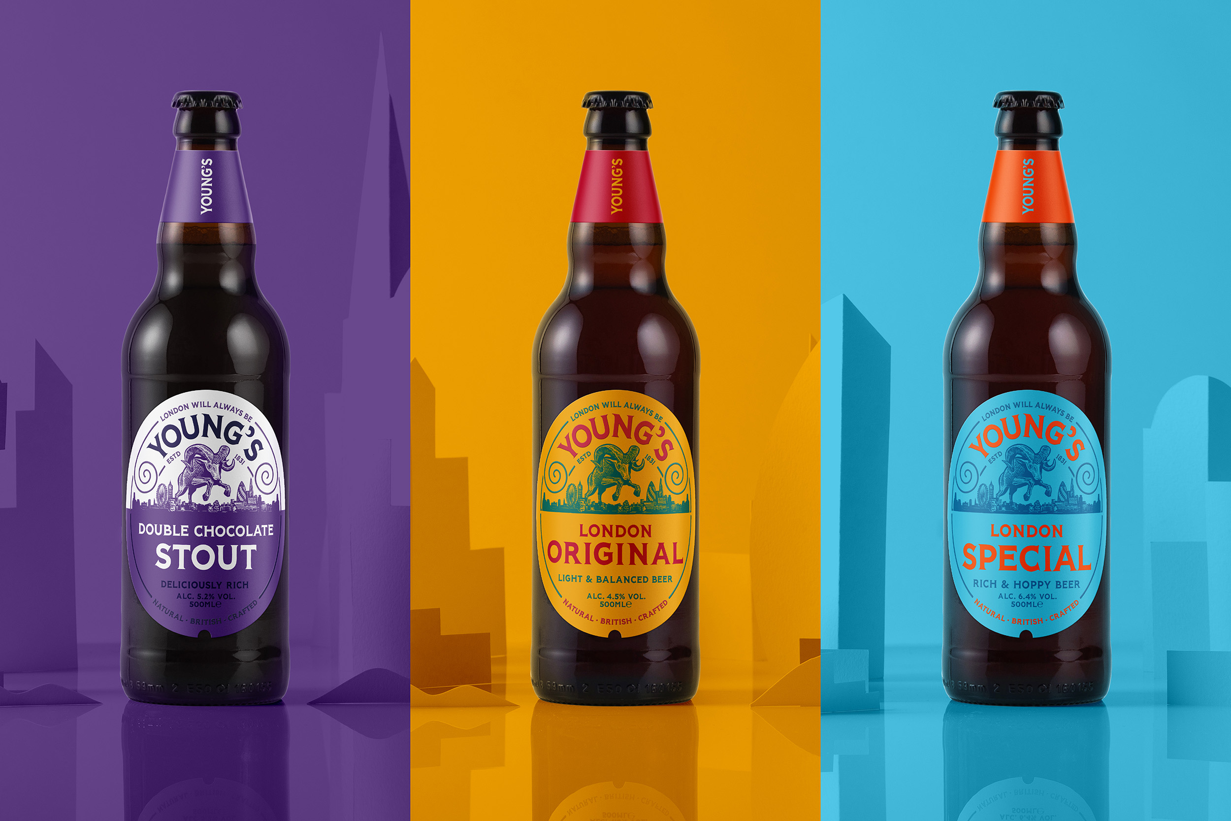 Kingdom & Sparrow Gives a New Lease of Life to Young's Heritage Ale Brand