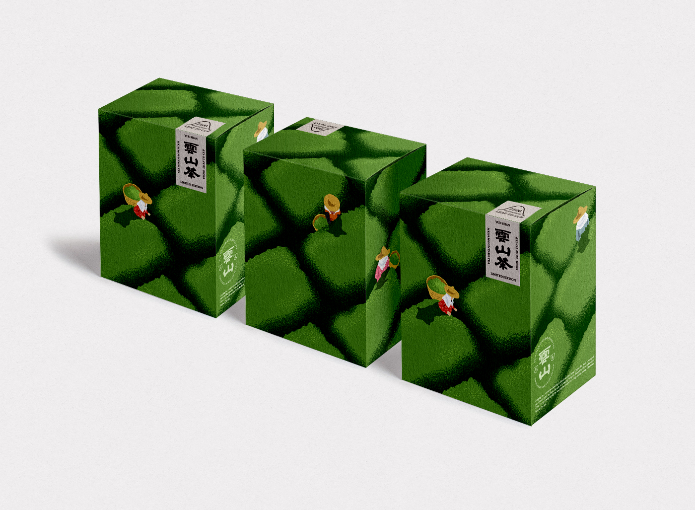 Yun Shan Tea Visual Identity Design