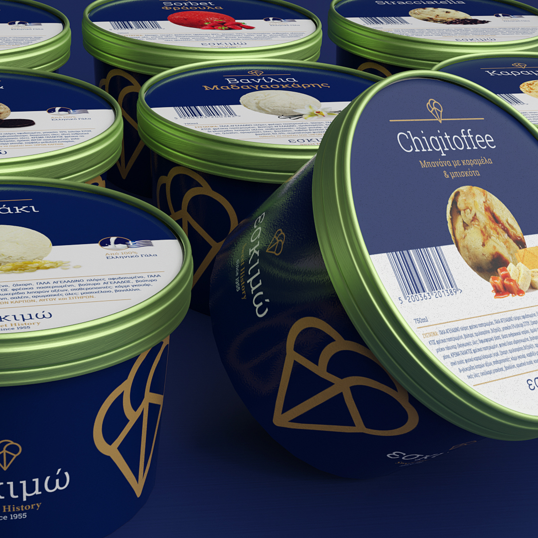 IceCream Packaging Design