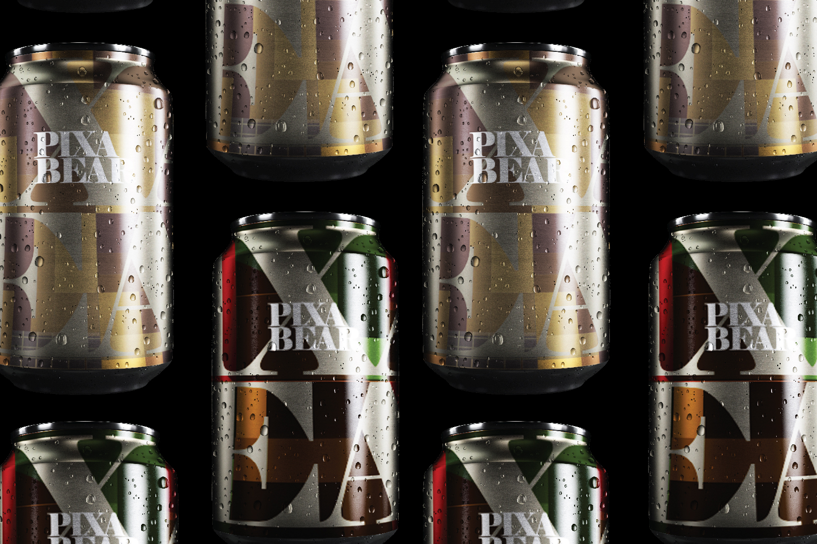PIXA Bear. Yes, its bear not beer