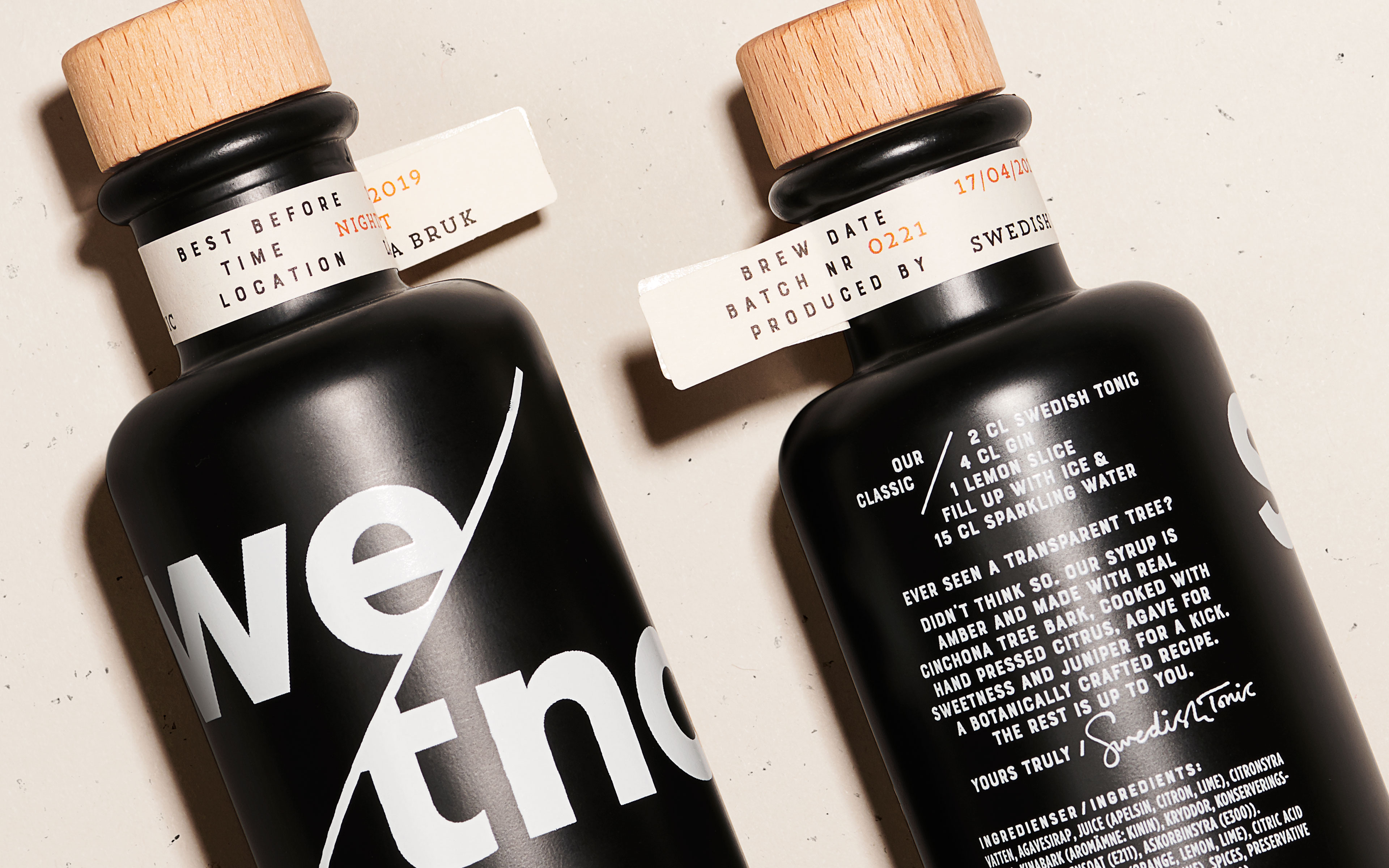Pond Design – SWE/TNC Swedish Tonic Syrup