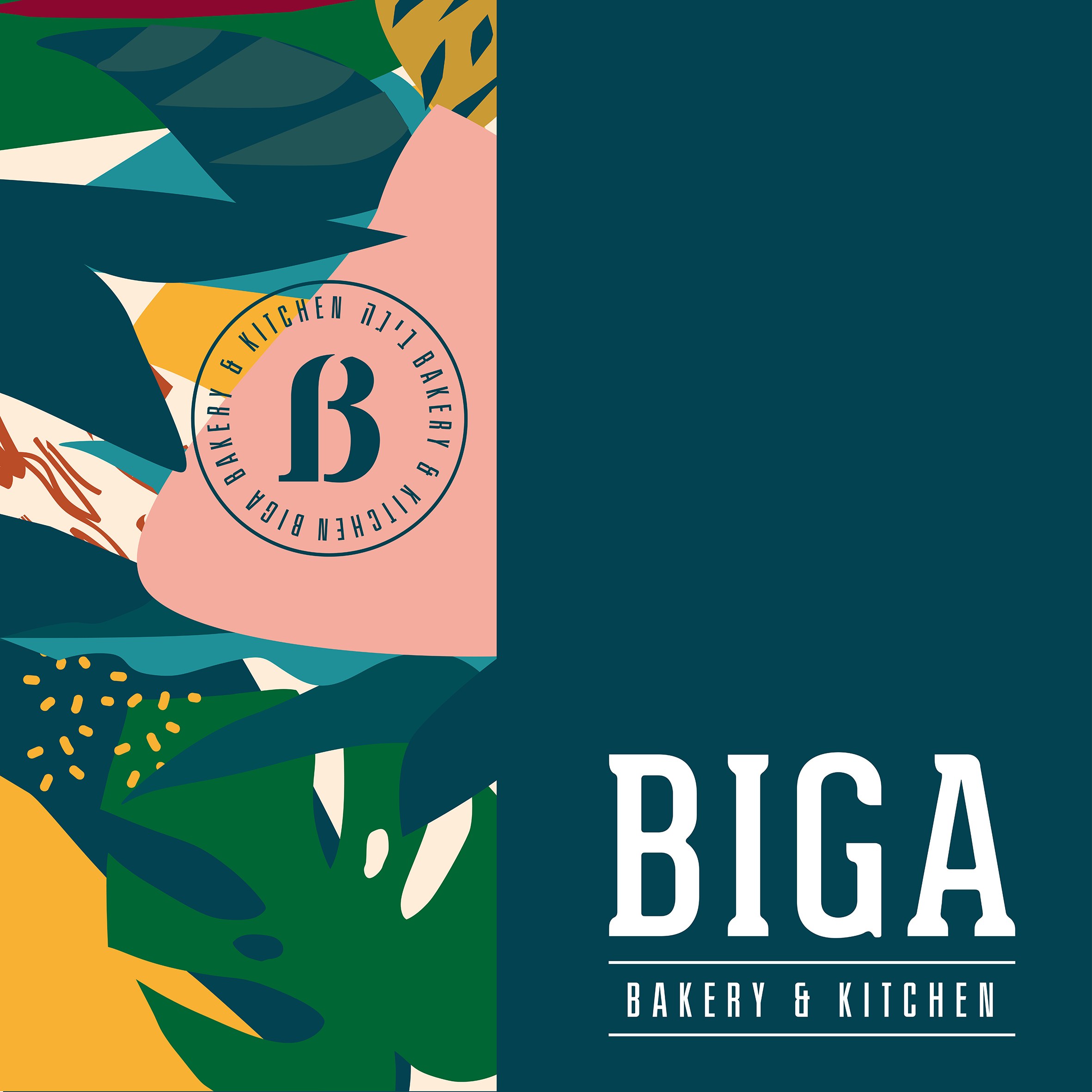 Fresh Rebranding for BIGA Chain of Israeli Coffee Shops