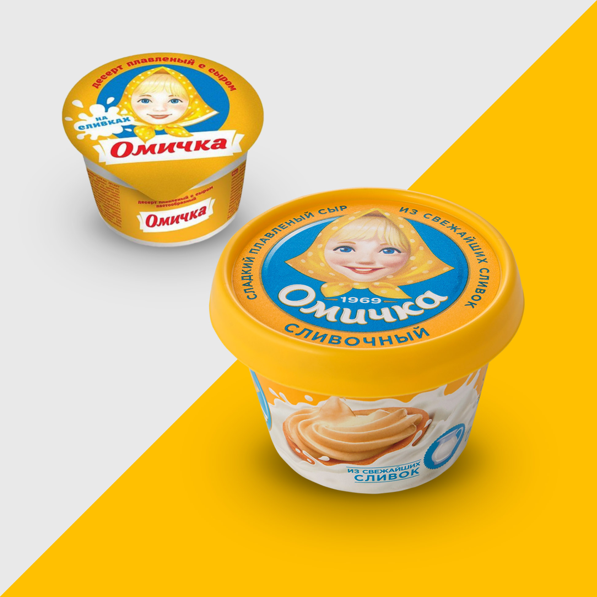 Omichka ™ Packing Design Rebranding