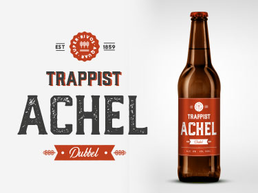 New Belgian Beer Label Design