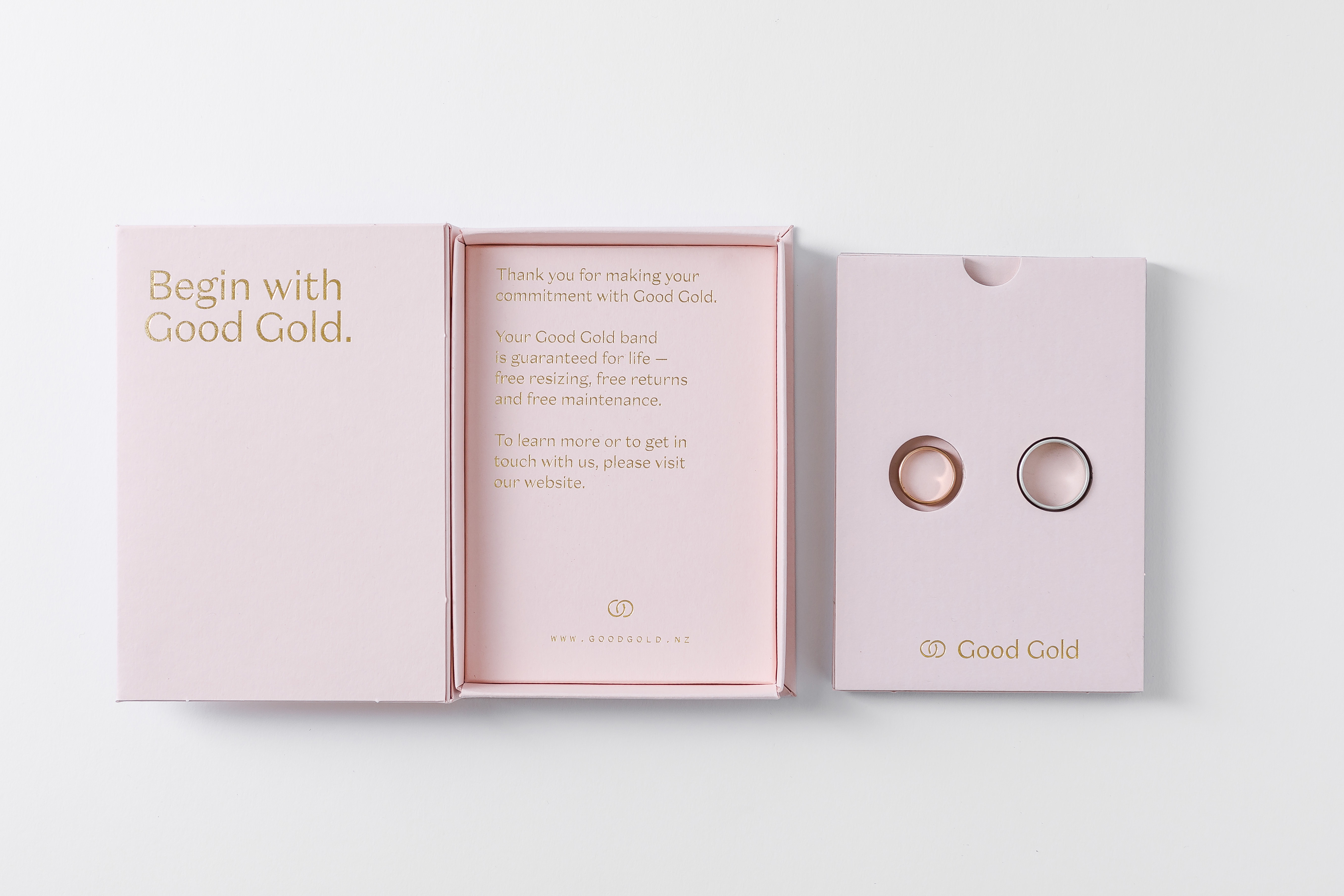Good Gold Wanted to Make Something Beautiful, Meaningful and Environmentally Friendly