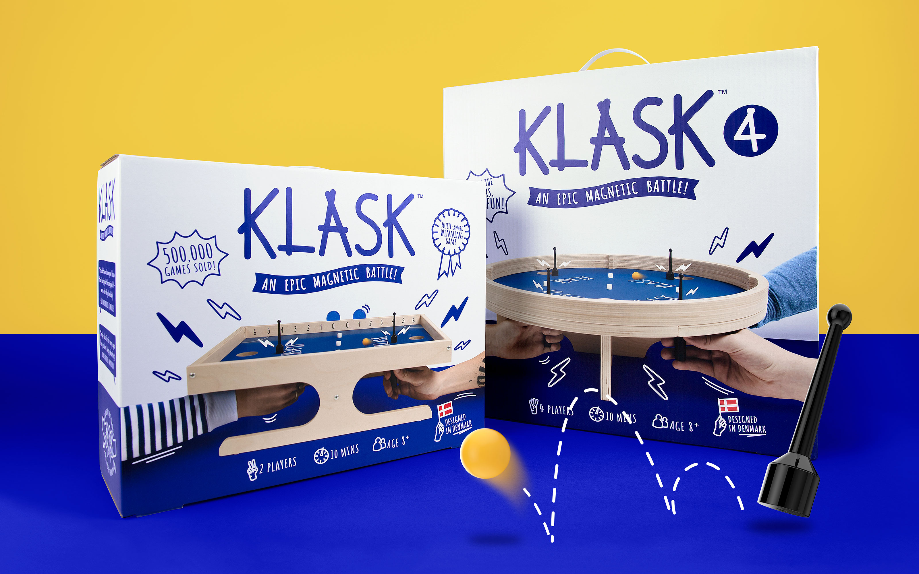 Robot Food Redesign Scandi Board Game Klask