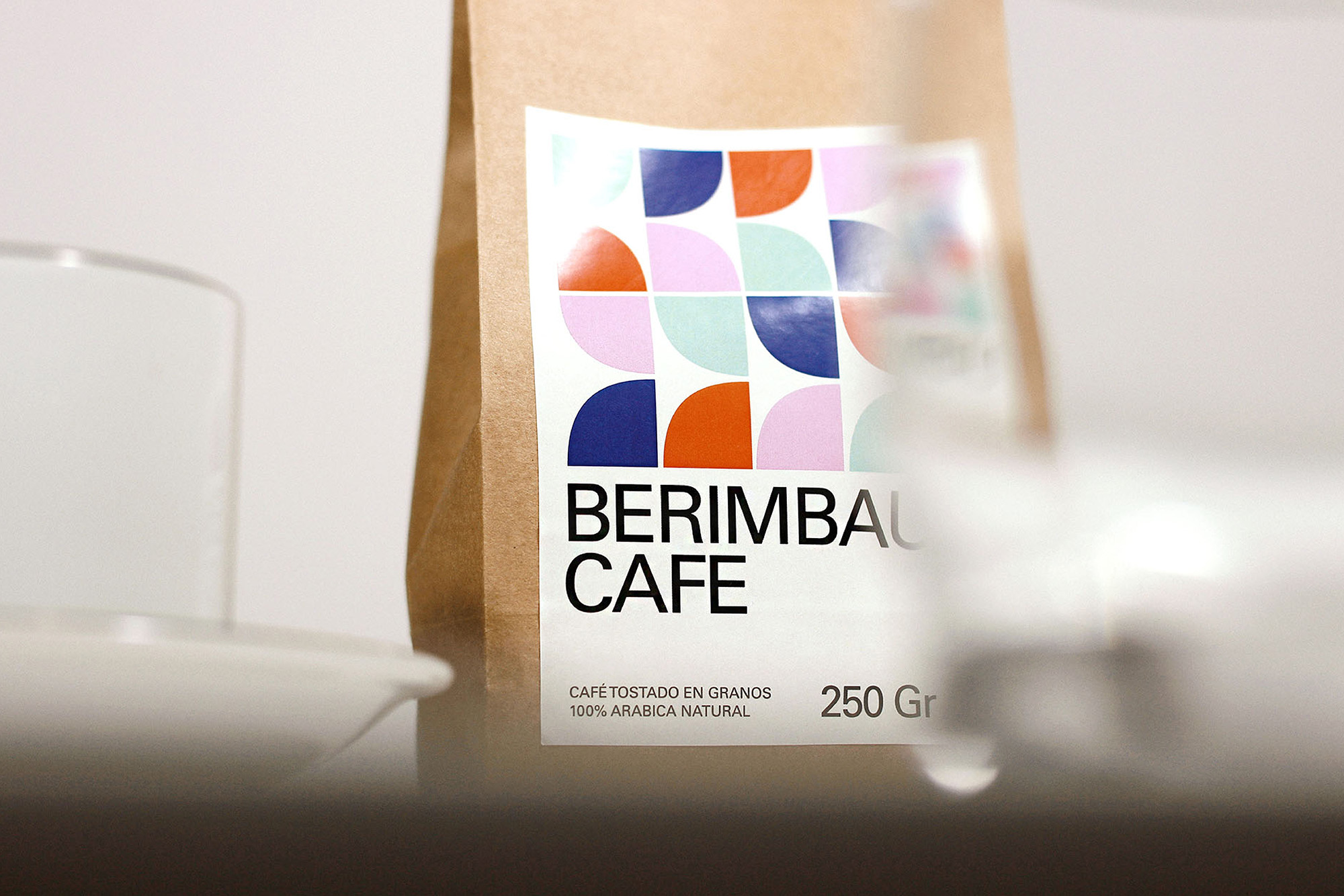 Berimbau Cafe Visual Identity