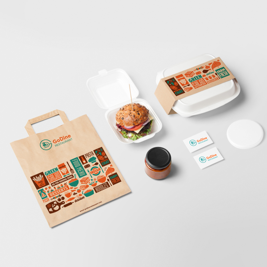 Branding for GoDine Restaurant