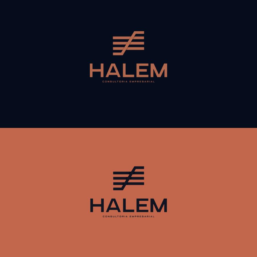 Halem Consultoria Empresarial by Lucas Queiroz Design
