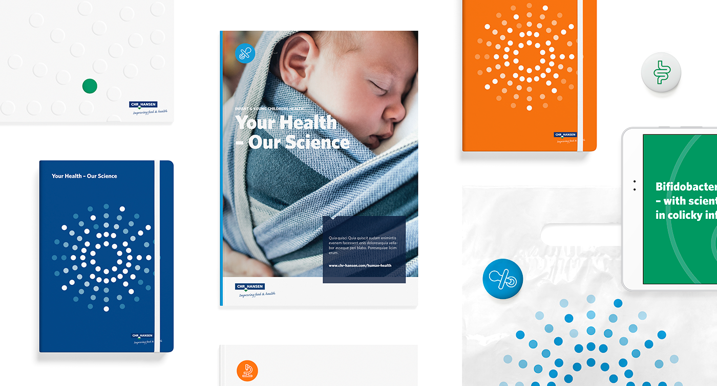Strategy and Visual Identity for Chr. Hansen Human Health