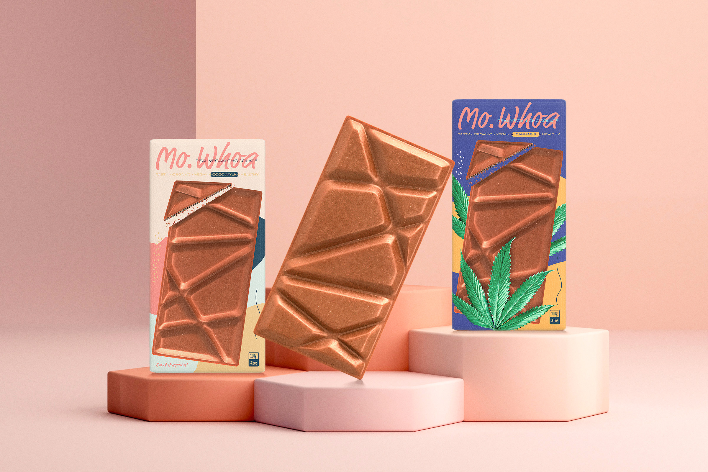 Creative Carbon Creates New Vegan Chocolate Packaging for a Californian Brand