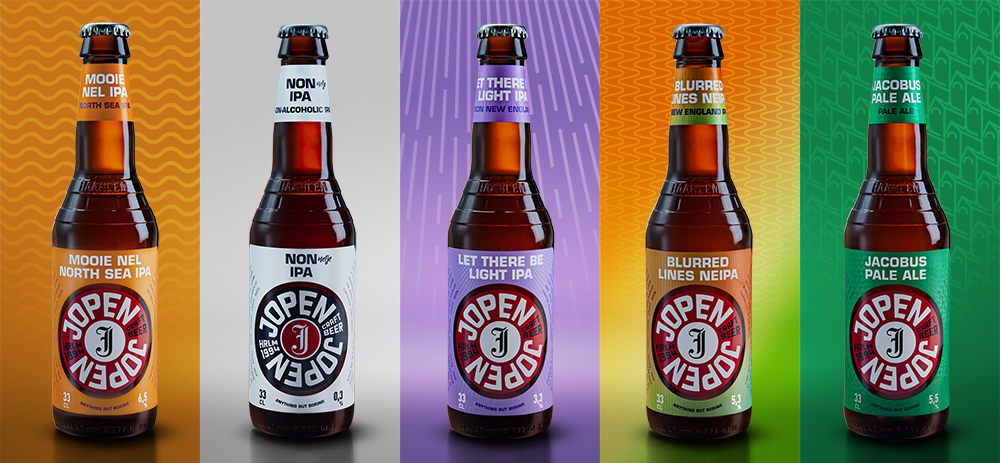 Jopen Craft Beer Restyling Logo and Packaging