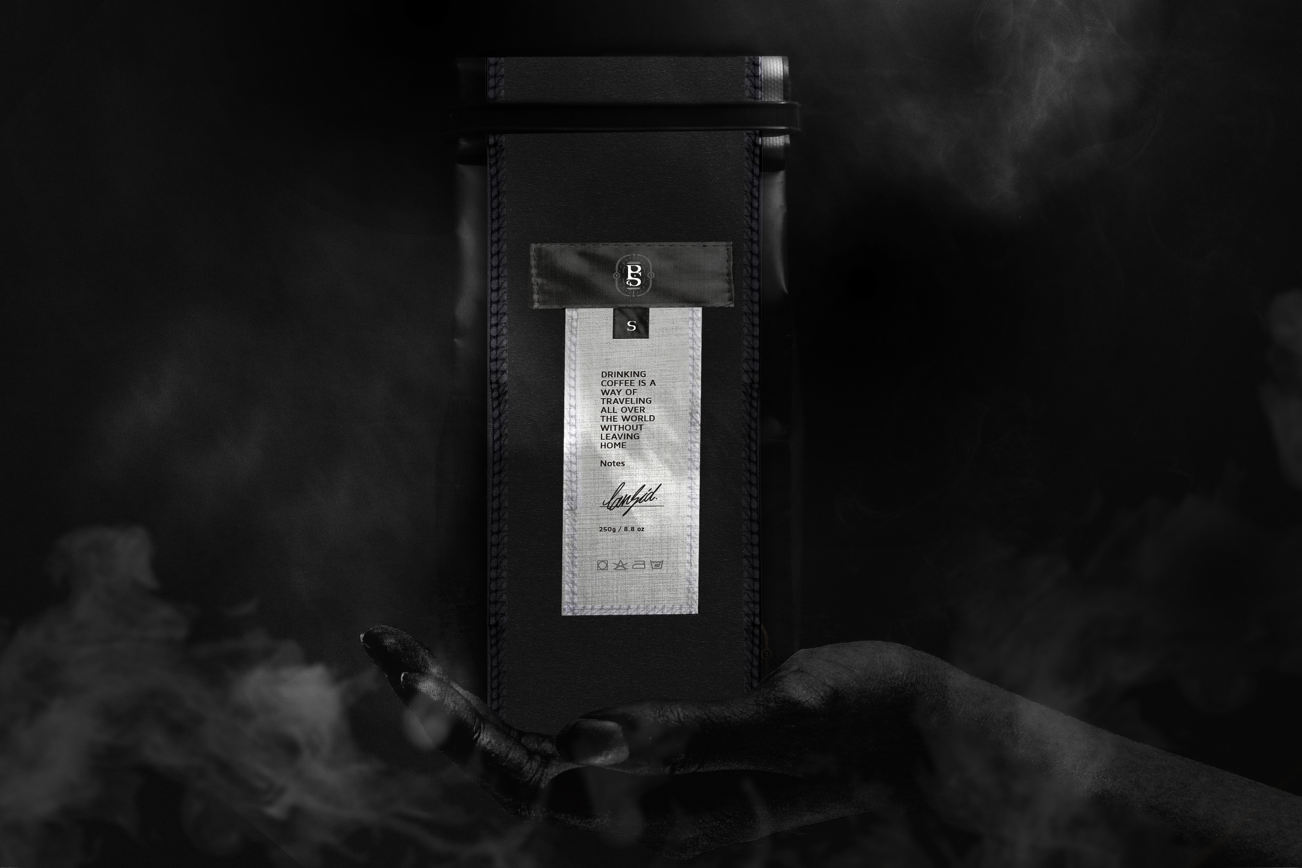Black Smith Coffee Packaging